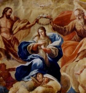Capilla de la Virgen - Asunción (detalle parcial)