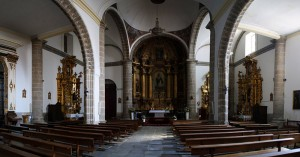 Interior de la Iglesia Parroquial Nº de la Asunción de Navalcarnero