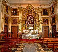 Capilla de la Virgen. Iglesia Ntra. Sra. de la Asunción.