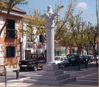 Cruz privilegio de Villazgo. Calle de Jacinto González.
