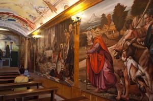 Ermita de Santa Agueda - Detalle interior