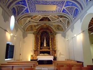 Ermita de la Veracruz - Vista interior
