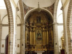 Retablo mayor de la Asunción de la Virgen