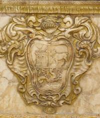 Escudo de Pedro de Buitrago. Capilla de San José. Iglesia Ntra. Sra. de la Asunción.