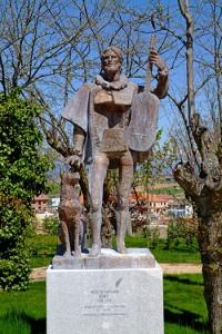 Estatua de Miguel de Fuenllana - Parque Histórico de San Sebastian