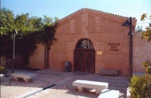 Entrada al Museo del Vino - Plaza de Alonso Arreo