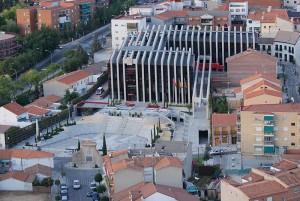 Plaza de Francisco Sandoval - Aérea