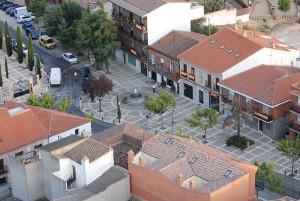 Plaza de San Cosme y San Damián - Aérea