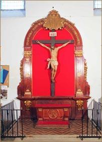 Retablo del Cristo en la Cruz