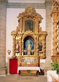 Retablo de la Virgen Milagrosa (antiguo de la Asunción)