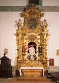 Retablo del Sagrado Corazón de Jesús (antiguo de la Virgen del Rosario)