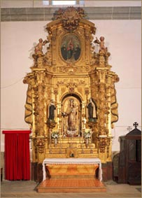 Retablo de Nuestra Señora del Carmen (antiguo de San Ignacio de Loyola)