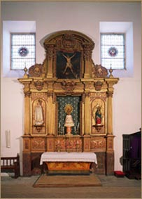 Retablo de la Virgen del Pilar (antiguo de Andrés Muñoz o del Cristo)