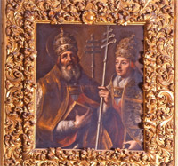 Santos Papas Sotero y Cayo. Iglesia de Ntra. Sra. de la Asunción