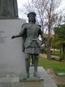 """Estatua de Gonzalo Fernández de Córdoba - """"El Gran Capitan"""""""
