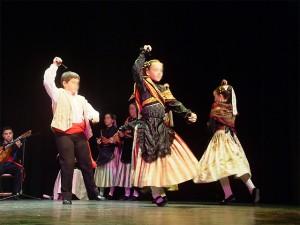 Bailes Típicos de Navalcarnero - Detalle de actuación