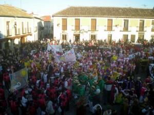 Carnaval en la Plaza de Segovia