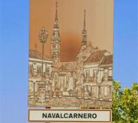Cartel Plan de Dinamización Turística de Navalcarnero