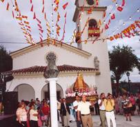 Actos frente a la Iglesia de Covadonga