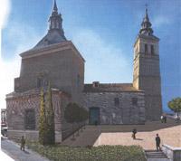 Representación Virtual Atrio de la Iglesia Parroquial