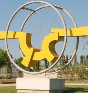 """Parque y Museo Feliciano Hernández - Escultura """"La fuerza del sino"""""""