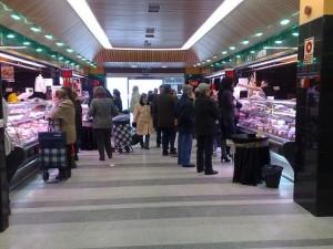 Mercado Municipal la Cruz Verde - Detalle interior