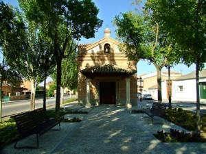 Parque del Nazareno - Detalle de la ermita Jesús Cautivo del Amor
