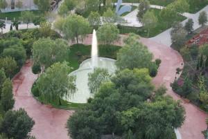 Parque de Los Charcones - Vista Aérea