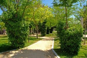 Parque de San Sebastián - Detalle Camino